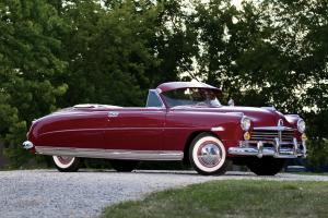 1949 Hudson Commodore Eight Custom Convertible Brougham